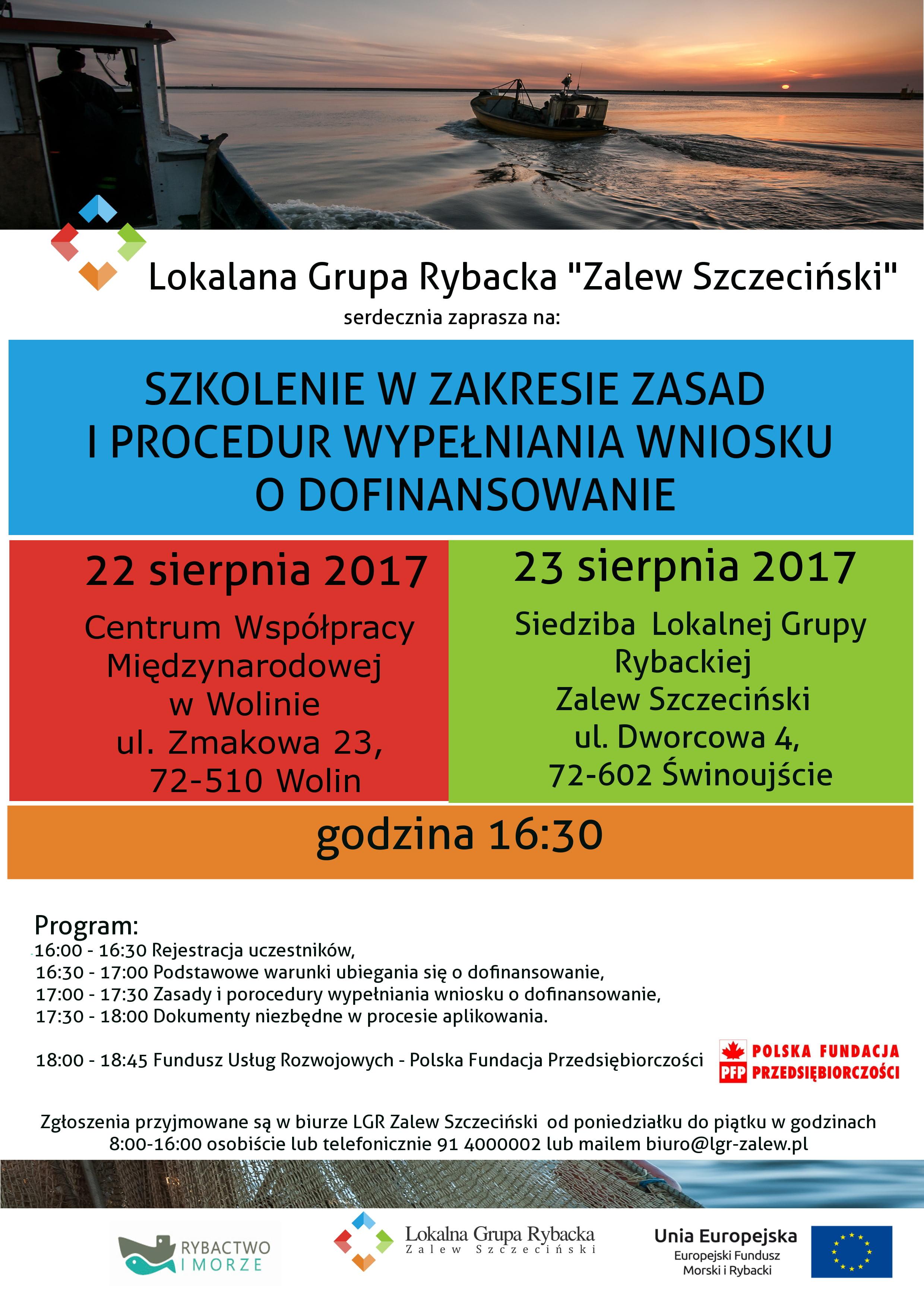 Lokalna Grupa Rybacka – Strona 9 – Zalew Szczeciński